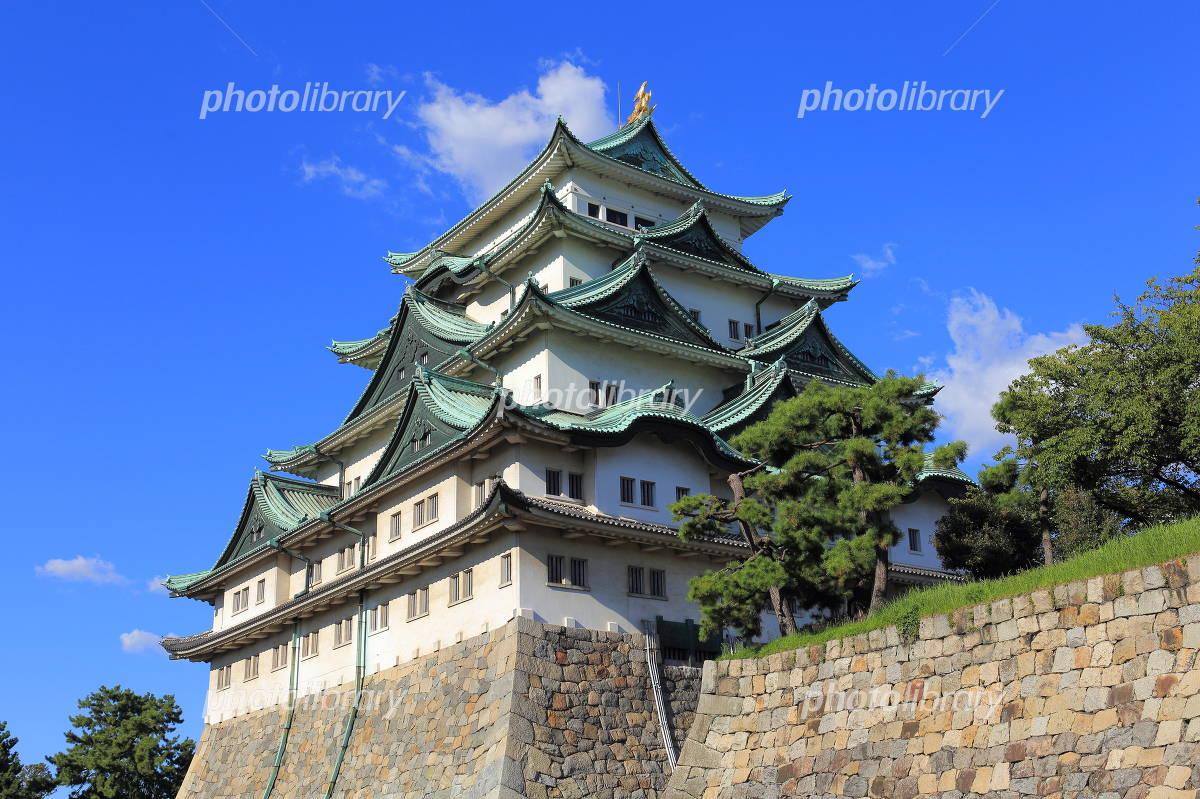Nagoya Castle castle tower Photo