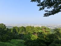 Views of the Joetsu city as seen from Kasuga Yamashiro castle keep Stock photo [3343649] Views