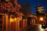 Night Yasaka Stock photo [3346022] Kyoto