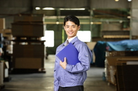 Men wearing work clothes Stock photo [3348714] Business