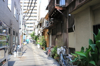 Nihonbashi, Chuo-ku, Tokyo Ningyo-cho of the back alley of the road Stock photo [3349937] Road