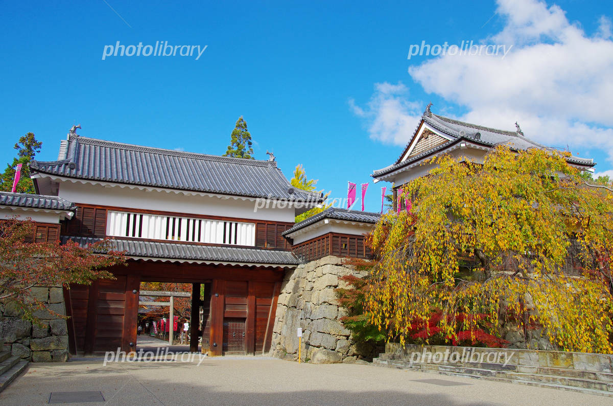 Ueda Castle gates Photo