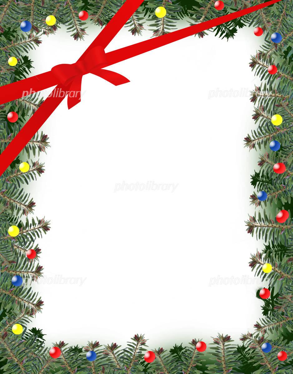 クリスマスフレーム クリスマス イラスト素材 3434077 フォト