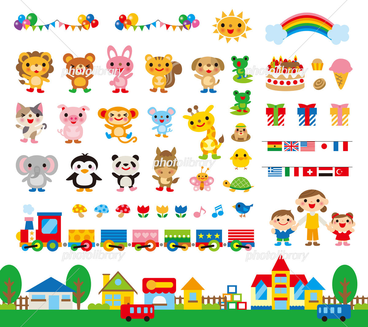 イラスト素材幼稚園保育園の先生におすすめ子供のイラスト