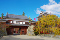 Ueda Castle gates Stock photo [3433244] Ueda