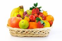 Fruit basket Stock photo [3434360] Fruit