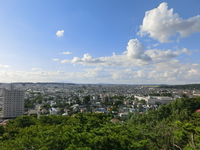 Akita city that looked over from Kubota castle your corner tower Stock photo [3435893] Urban