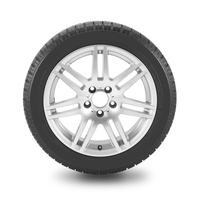 Winter tires cutout image Stock photo [3441170] Winter