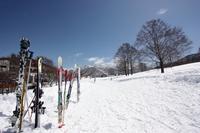 Spring skiing image Stock photo [3528314] Skiing