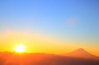 World Heritage Fuji sunrise Stock photo [3528452] World