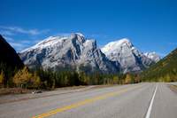 Spectacular drive at the National Park of Canada Stock photo [3534639] Mountain
