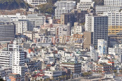 熱海市街地 写真素材 [ 3638113 ] - フォトライブラリー photolibrary