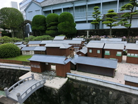 Nagasaki Dejima restoration model monuments Stock photo [3645555] Dejima