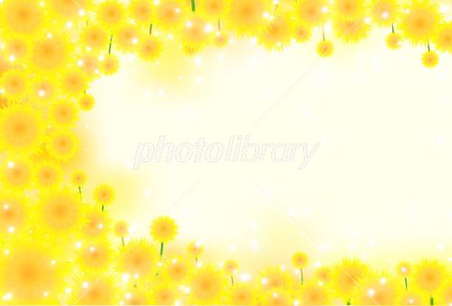 ひまわり 夏 背景 イラスト素材 フォトライブラリー Photolibrary