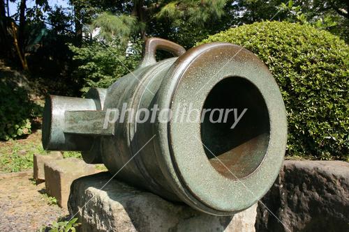 韮山反射炉で造られた射石砲 写...