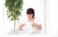 A woman wiping Stock photo [3747304] Woman