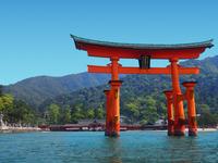 Of Itsukushima shrine Otorii Stock photo [3750087] Itsukushima
