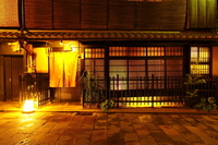 After the rain of the night Gion Stock photo [3755894] Night