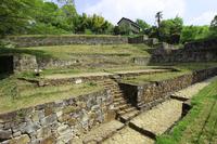 Kanayama Castle Ruins Stock photo [3756439] Kanayama-jo