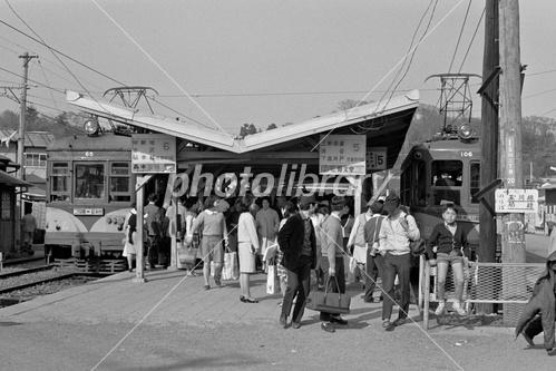 東急線 二子玉川園駅 1969年 写...