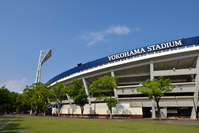 Yokohama Stadium on a sunny day Stock photo [3866165] Yokohama