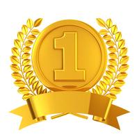 Gold medal of the emblem [3871849] Medal