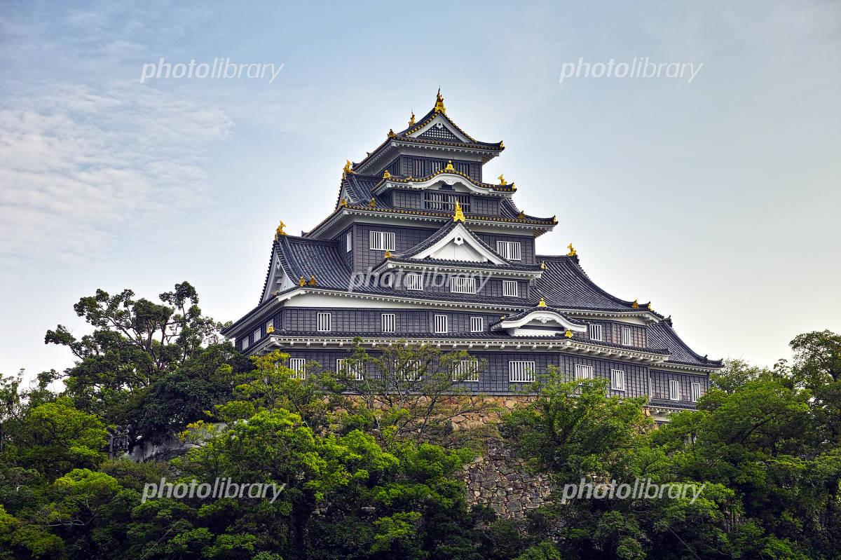 Okayama Castle castle tower Photo