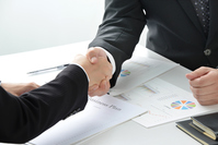 Business Image - contract formation Stock photo [3963020] Business