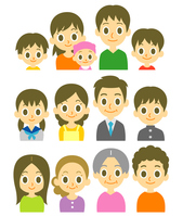 Various household family [3964955] Home