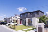 Newly built condominium residential area image Stock photo [3966560] Newly