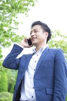 Phone businessman Stock photo [3968288] Businessman