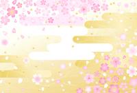 Sakura New Year's background [3970291] New