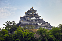 Okayama Castle castle tower Stock photo [3971067] Okayama