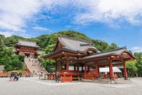 Kamakura Tsuruoka Hachiman dance hall and Motomiya Stock photo [3973112] Kamakura