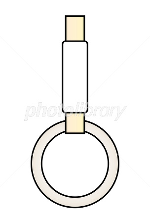 吊革のイラスト素材