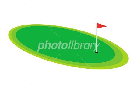 Golf course イラスト素材