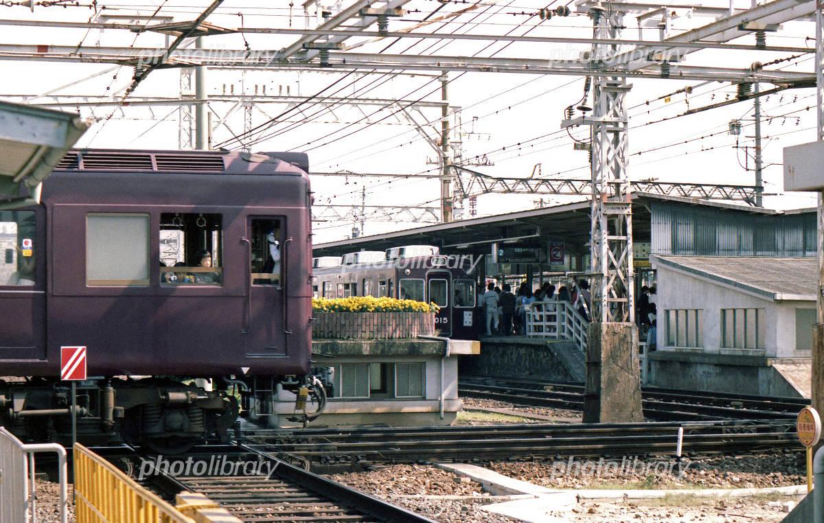 懐かしの鉄道風景 阪急 神戸線を...