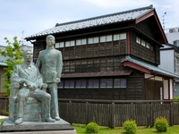 Fujino ImuKuro Memorial and the image of Lu Xun Stock photo [4055582] Fukui