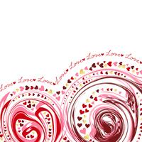 Valentine Heart Marble design [4120352] Valentine