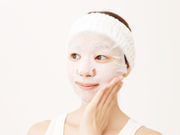 Woman to face mask Stock photo [4120509] Face