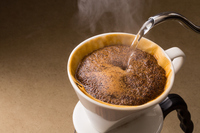 Is brewed coffee Stock photo [4126184] coffee