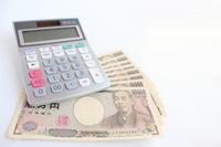 Calculator and money Stock photo [4171923] calculator