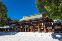 Meiji Shrine main shrine Stock photo [4173374] Meiji
