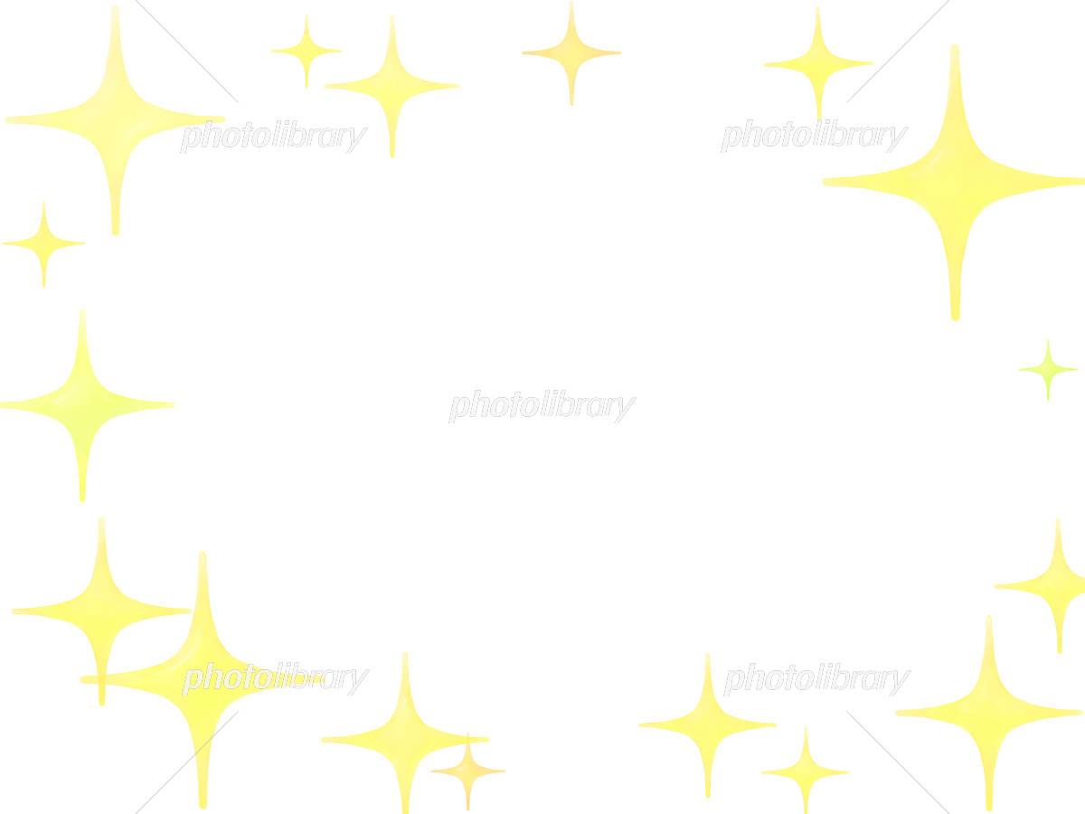 キラキラフレーム イラスト素材 4214494 フォトライブラリー