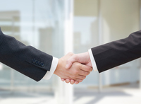 Handshake business close-up Stock photo [4214712] handshake