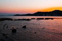Shodoshima Seto Inland Sea of \dusk Stock photo [4338887] Ocean