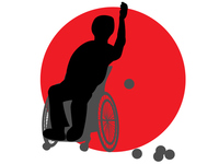 Boccia of disability sports [4344594] handicapped