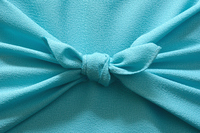 Light blue wrapping cloth wrapped Stock photo [4348914] Wrapping