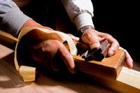 Craftsman to Canna cliff Stock photo [4351771] carpenter