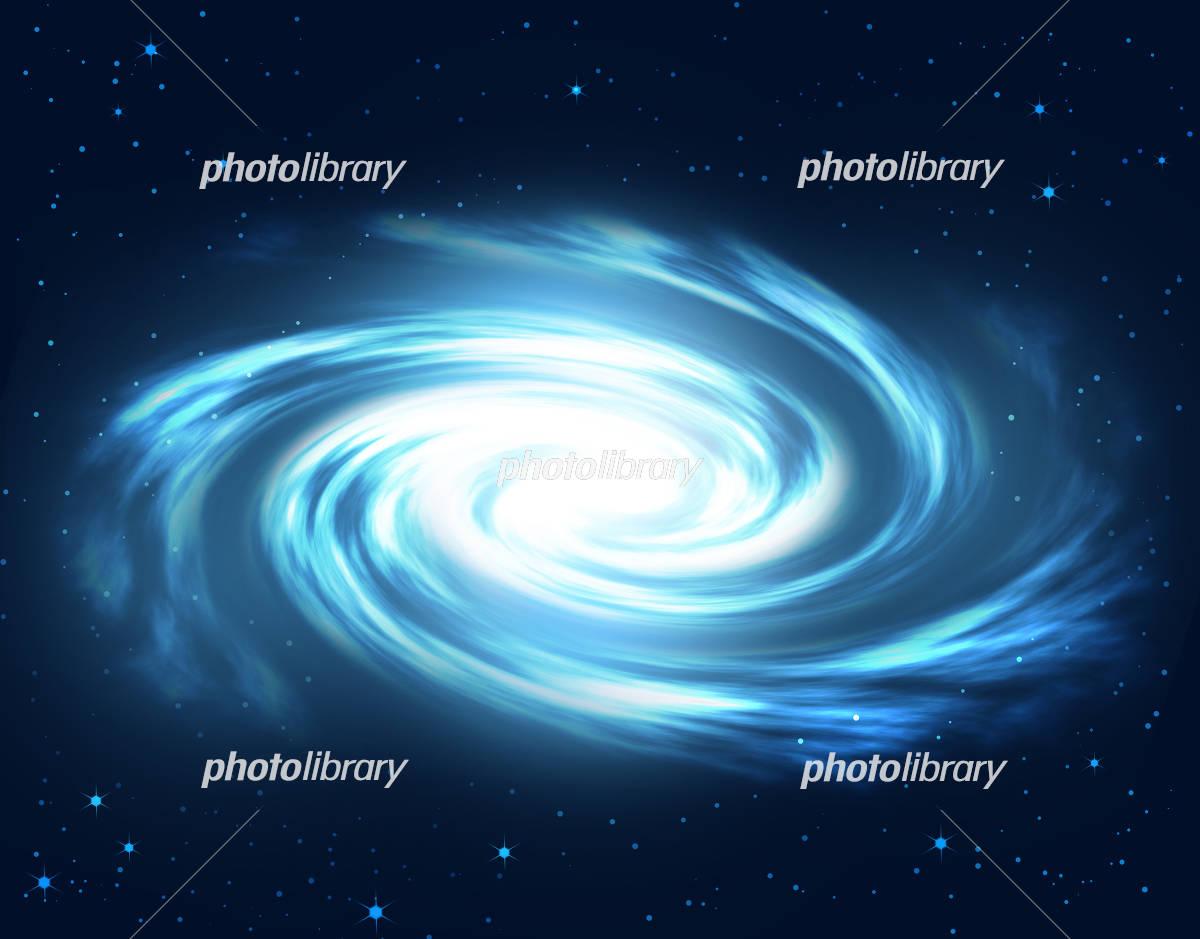 渦巻星雲 宇宙 星雲 銀河系 銀河 星 イラスト素材 [ 4430027 ...